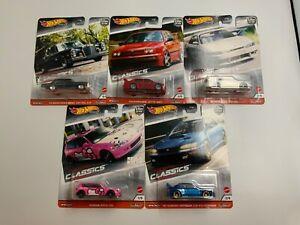 1:64 Hot Wheels Modern Classics 2020 Car Culture FPY 86 979 S 5 Car Set