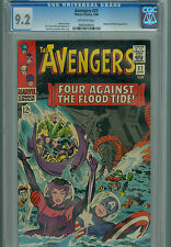 Avengers 27 CGC 9.2 Infinity War Captain America Scarlet Witch Attuma Beetle