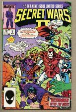 Secret Wars II #5-1985 nm- 9.2 Marvel Super-Heroes The Beyonder1st Boom Boom