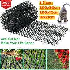 200x30cm Cat Scat Mat Spike Cat Pest Deterrent Garden Repellent Animal Scarer UK