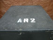 Amp Rack Ar2 of 3. 18 space. Swing doors. No Lids. Bedliner coated. Shock Rack.