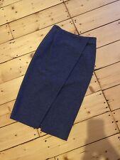 Massimo Dutti Grey Pencil Skirt Womens Eur34 UK8