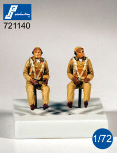 1/72 PJ PROCTION US NAVY PILOTS SEATED IN A/C (WWII)