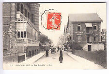 CPA  BERCK PLAGE 62  -  RUE ROTHCHILD PASSANT & ATTELAGE 1911 ~A60