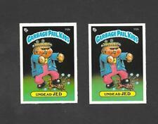 Topps UK Garbage Pail Kids GPK 3rd Series (1986) 2 variety cards of No 112b