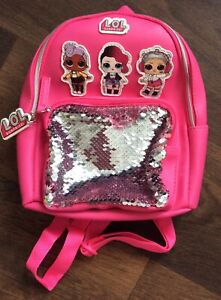 Primark Girls Lol Surprise Mini Rucksack Never Used