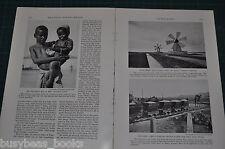 1935 magazine article about ADEN, Yemen, people history etc, Arabia