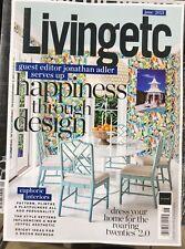 LIVING ETC MAGAZINE-JUNE 2021-HAPPINESS THROUGH DESIGN-BRAND NEW