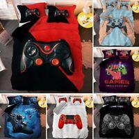 Modern Gamer Bedding Set For Adult Kids Gamepad Comforter Cloth Duvet Cover