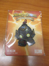 Blizzard Hearthstone Fireside Gathering Pin 2018 Boombot Gen Con Exclusive Promo