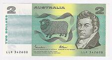 1985 (UNC) AUSTRALIAN $2 TWO DOLLAR NOTE - BRILLIANT CONDITION - Johnston/Fraser