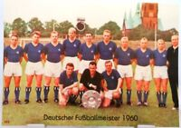 Hamburger SV + Deutscher Fußball Meister 1960 + Fan Big Card Edition F11 +