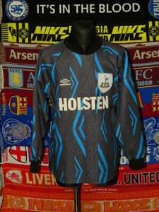 4/5 Tottenham Hotspur adults XL 1993 goalkeeper football shirt jersey soccer