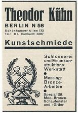 14/380 affichage d'un journal 1930-art FORGE Berlin theodor audacieux