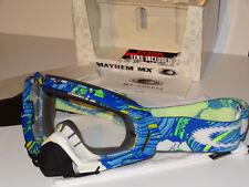 Oakley Mayhem MX Blue/Green Pop Art Brandnew! Rare 01-760