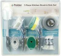New Polder 7- piece Kitchen Brush & Sink Set