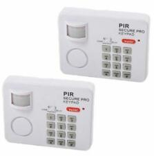 WIRELESS MOTION SENSOR ALARM WITH SECURITY KEYPAD HOME GARAGE SHED CARAVAN 31299