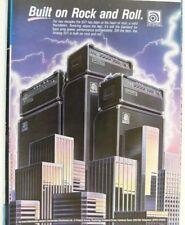 retro magazine advert 1988 AMPEG