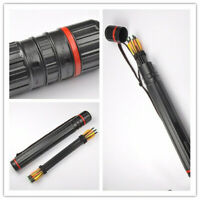 Multifunction Back Quiver Archery Adjustable Shoulder Case Bag Hunting Accessory