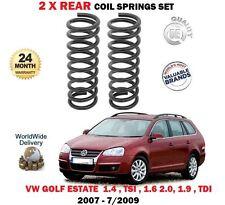 FOR VW GOLF ESTATE MODELS 1.4 1.6 1.9 2.0 TDI 2007-2009 2X REAR COIL SPRINGS SET