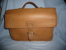 XL Ledertasche Aktentasche Lehrertasche Schulranzen Schultasche - natur Leder