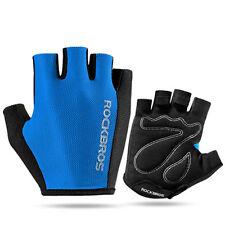 Rockbros Bike Pad Half Finger Short Finger Gloves Sport Breath Gloves 5 Colors