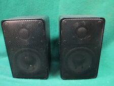 Vintage REALISTIC Minimus-7 Speakers 40-2030C Japan 1989 Good Clean WORKS#2130J4