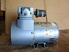 Gast 3lem 10 M345x Pressurevacuum Pump 13 Hp 1725 Rpm 1 Ph 56814j Used
