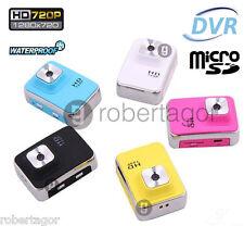 SPORTS HDDV GO CAM HD 720p ACTION PRO CAMERA ACCESSORI SUBACQUEA WATERPROOF