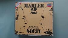 Gustav Mahler - Mahler 2 2CD Fatbox - Georg Solti - Chicago Symphony Orchestra