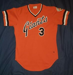 San Francisco Giants Game Used Worn Jersey – 1982 John Rabb With Patch