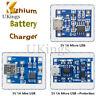 2/5/10PCS TP4056 5V 1A Mini/Micro USB 18650 Lithium Battery Module Charger Board