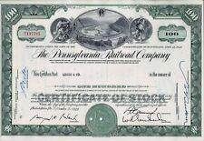The Pennsylvania Railroad Company, 1963 (100 Shares)