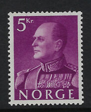 NORWAY :1958  King Olav V 5k purple   SG488 mint
