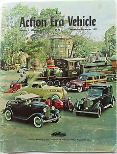 """""""The Action Era Vehicle"""" Magazine ~ November / December 1975 ~ Full Color Cover"""