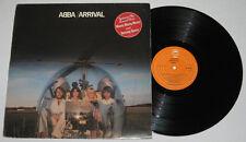 England Pressing ABBA Arrival LP Record