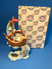Dreamsicles Smooth Sailing Angel Cherub Limited Ed 10th Anniv. Figurine Rare Ln