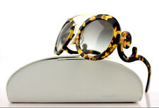 RARE New Genuine PRADA Cinema Baroque Blonde Havana Sunglasses SPR 13S 7S00A7