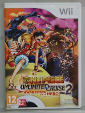 One piece Unlimited Cruise 2 Awakening Of at A Hero - Nintendo Wii - Pal Spain