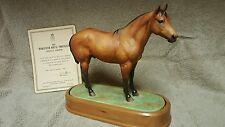 Royal Worcester Horse Doris Lindner Quarter Horse