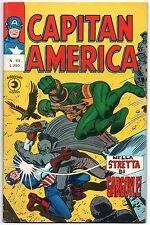 CAPITAN AMERICA corno N.53 NELLA STRETTA DI GARGOYLE !  x-men nick fury shield