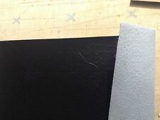 "Black genuine pigskin bookbinding  1oz .5mm 9.75x14"""