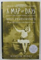 Miss Peregrine's A Map of Days Author Signed Ransom Riggs 1st Edition Mint