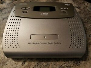 Plus 6000 MP3 DIGITAL MUSIC ON HOLD PLAYER 64 MB on-hold for PBX Systems w/Cord