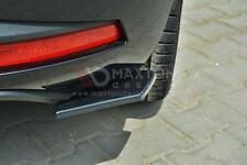 REAR SIDE SPLITTERS (GLOSS BLACK) FOR  SEAT LEON mk3 CUPRA/FR (2012-UP)