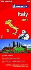 Italy 2016 National Maps 735 (Michelin Road Atlases & Maps)