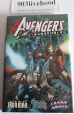 MARVEL AVENGERS DISASSEMBLED CAPTAIN AMERICA IRON MAN THOR HC HARDCOVER NEW OOP
