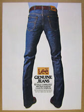 1981 Lee Riders Jeans patch back pockets photo vintage print Ad