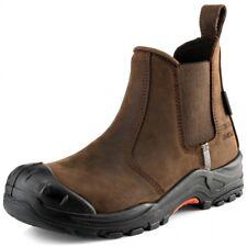 Buckler NKZ101BR Nubuckz Non-metallic Dealer Boots Brown (Sizes 6-13)