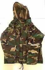 AIRSOFT PAINTBALL HUNTING HELIKON ECWCS WATERPROOF JACKET GENERATION II WOODLAND